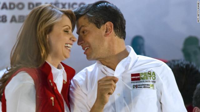 Casi el 90% de mexicanas con pareja la engañaría con Peña Nieto, según un sondeo