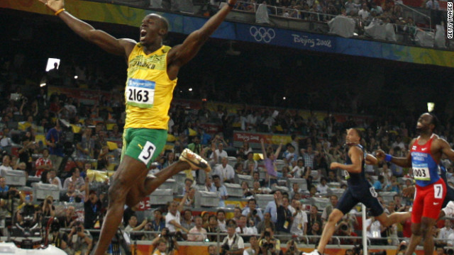 Bolt claimed his second gold in China with an emphatic victory in the 200m, setting another world record.