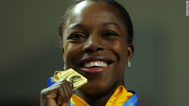 Veronica Campbell-Brown is bidding for a hat-trick of 200m gold medals at the London Olympics following her triumphs in Beijing and Athens.