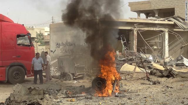 58 muertos y más de 150 heridos en ataques con coches bomba en Iraq