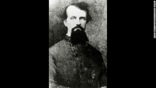 Gen. Nathan Forrest, a former Confederate soldier, slave trader and plantation owner, became Grand Wizard of the Ku Klux Klan in 1867.