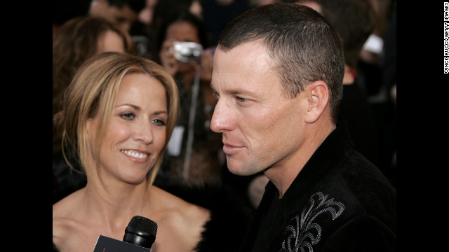 Armstrong arrives at the 2005 American Music Awards in Los Angeles with his then-fiancee Sheryl Crow. The couple never made it down the aisle, splitting up the following year.