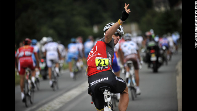 Armstrong finishes 23rd in the 2010 Tour de France. He announced his retirement from the world of professional cycling in February 2011. He said he wants to devote more time to his family and the fight against cancer.