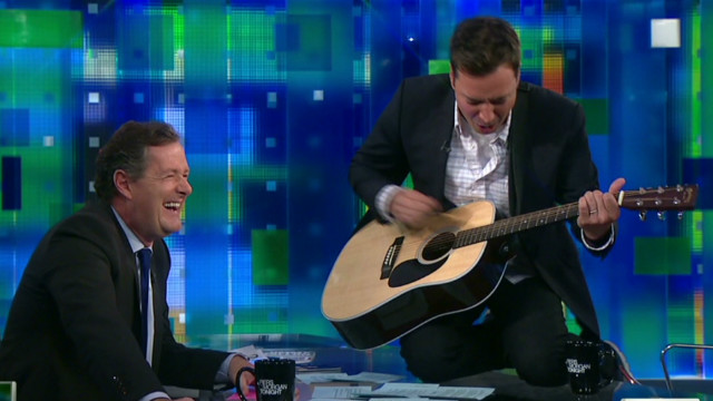"Laughs, Lights and Lawrence's Late Arrival – A collection of moments from ""Piers Morgan Live"""