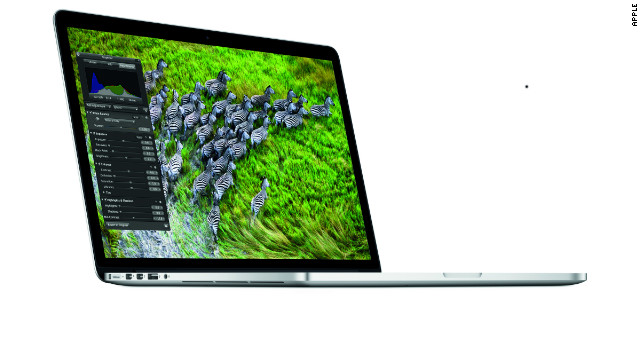 Thanks to its non-removable battery, Apple's MacBook Pro with retina display may be difficult to recycle or disassemble.