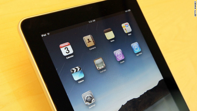 The screens of current iPads measure about 10 inches across diagonally, but reports suggest a 7-inch model may be coming.