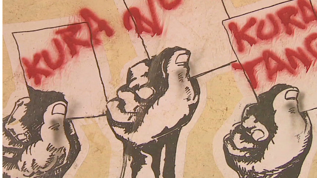 El grafiti como herramienta política en Kenya