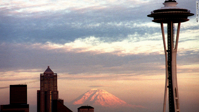 While not as iconic as the Eiffel Tower, Seattle's Space Needle is another lasting architectural legacy of an Expo on a city's skyline. It has now been towering over the city for 50 years.