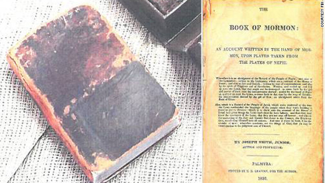 FBI recovers rare first-edition of the Book of Mormon