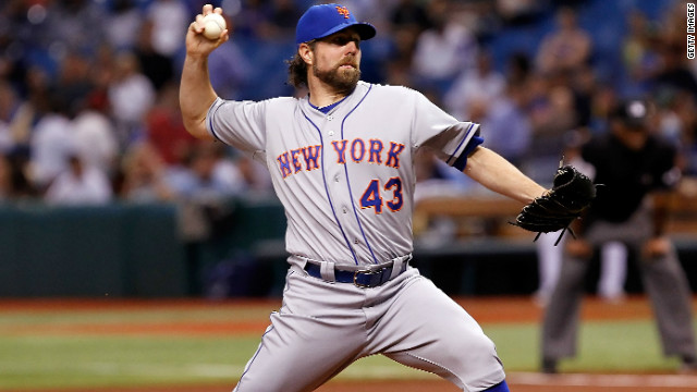 Mets want Dickey's 1-hitter to be declared a no-no