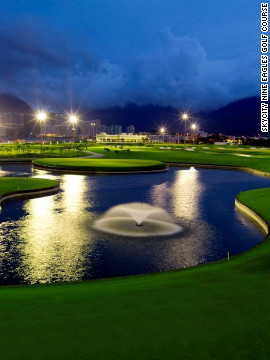 Getting in nine holes is par for the course in Hong Kong, thanks to the USGA-approved SkyCity Nine Eagles Golf Course adjacent to Terminal 2.<br/><br/>