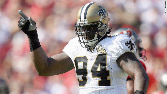 New Orleans Saints defensive lineman Charles Grant tested positive for banned substances in 2008 and was suspended for the rest of the season. He is currently a free agent.