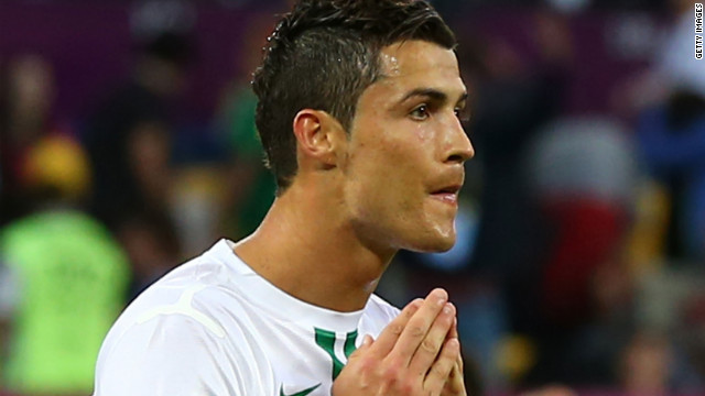 Star player Cristiano Ronaldo is under pressure to lead Portugal into the quarterfinals of Euro 2012, with the Real Madrid forward having struggled to make the impact that was expected of him.