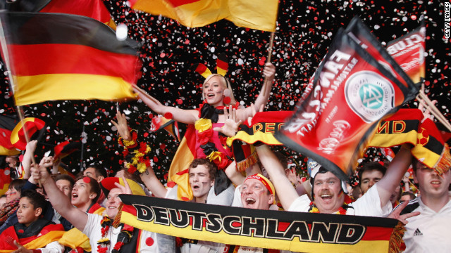 Germany's supporters know their team will go through to the last eight with a draw against Denmark in Lviv on Sunday, and &quot;Die Mannschaft&quot; could possibly still qualify even after a defeat.