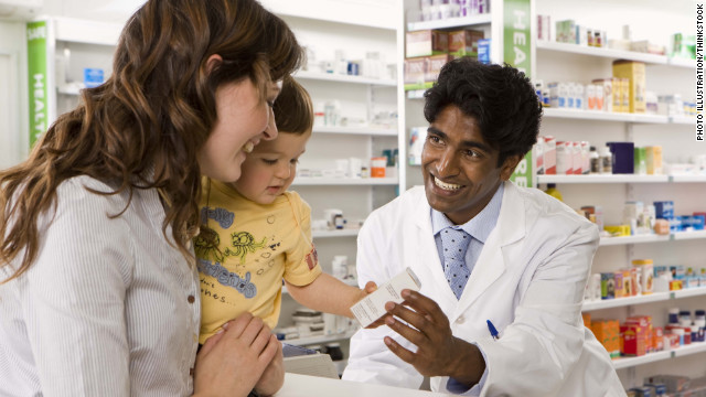 Kids taking fewer antibiotics, more ADHD meds
