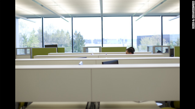 "Steelcase employees take advantage of the company's product lines. As one designer says, ""We're kind of our own customer."""