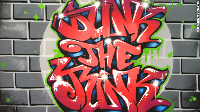 Using hip hop and graffiti to fight childhood obesity