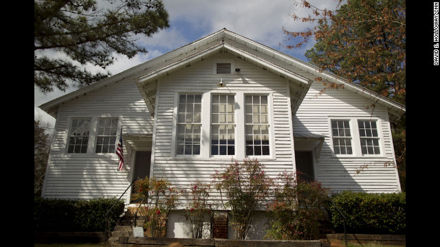 The school was added to the National Register of Historic Places in 1987, and opened as a museum in 1989. It's a classic Rosenwald School design, author Stephanie Deutsch said: Painted white with two classrooms, wood floors and big windows to let in light for children to read by.