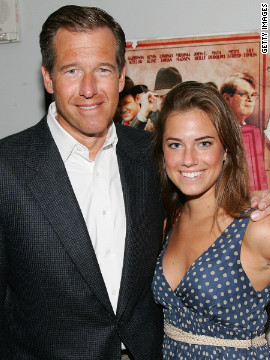 "Considered to be one of the greatest newsmen of this generation, Brian Williams and his nose for hard news also knows how to lighten things up some (with his frequent stints on ""Late Night with Jimmy Fallon""). His eldest daughter, Allison, may not have followed with a career in journalism but her debut acting role in HBO's controversial series ""Girls"" has surely made headlines."