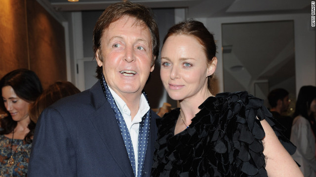 As the daughter of former Beatle Paul McCartney, one of the most influential musicians in the history of music, Stella McCartney's pedigree, and talent, has made her the cream of the crop amongst European fashion designers. Designing for the likes of Madonna, Annie Lennox and Gwyneth Paltrow and with shops in major cities across the world, the McCartney legacy lives on in a major way.