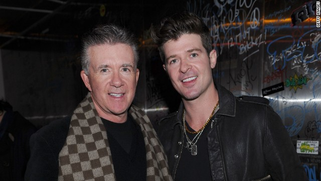 "Like father like son? Not so much. The ""Growing Pains"" actor became a household name with the 1980s sitcom but his son Robin, however, wanted to take on music like his mom, Gloria Loring, who scored a pop hit in the 1980s with ""Friends & Lovers"" (with Carl Anderson)."