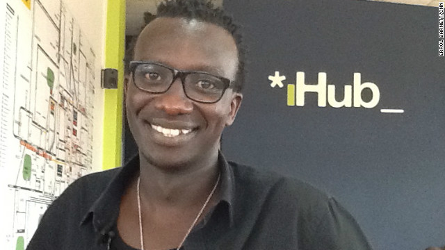 Tosh Juma manages the iHub, which is described by its founders as &quot;an open space for the tech community in Kenya with great ideas that will lead to development of new technologies in Kenya.&quot;