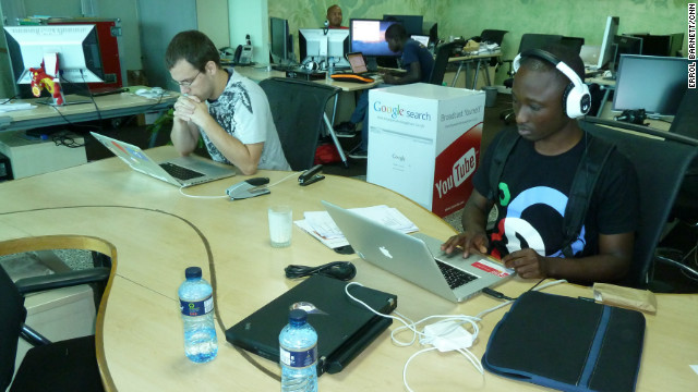 iHub, featured on the show, is Nairobi's innovation hub for technologists, young entrepreneurs, investors, tech companies and hackers in the area. Described by those who run it as &quot;part open community workspace, part vector for investors and VCs and part incubator.&quot;