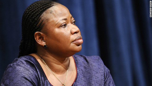File photo of Fatou Bensouda, from Gambia, who served as Luis Moreno-Ocampo's deputy. 
