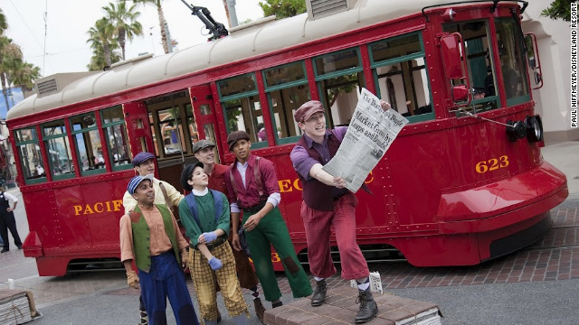 The revamp of the California Adventure park also includes Buena Vista Street, an entry point featuring a nostalgic look at Los Angeles in the 1920s and 1930s, when Walt Disney arrived.