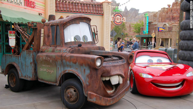 "Kids who've grown up with Pixar's ""Cars"" movie will find all their favorite characters in the new park."