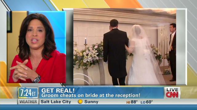 Groom Cheats On Bride At Their Own Wedding Reception Starting Point Cnn Blogs