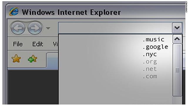 Marcas e internautas pugnan por los nuevos dominios de Internet
