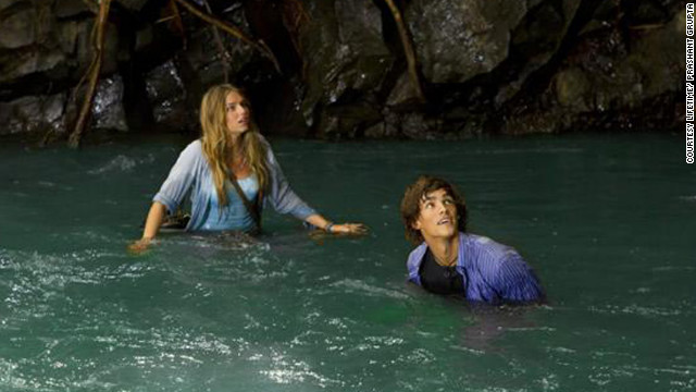 Brenton Thwaites co-stars with Indiana Evans in