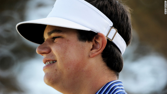 Amateur Beau Hossler of the United States waits on the seventh hole Saturday.