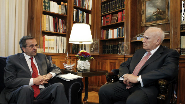Los contornos de un nuevo gobierno griego toman forma
