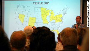 FreedomWorks\' Russ Walker walked activists through a map of states that are part of the \