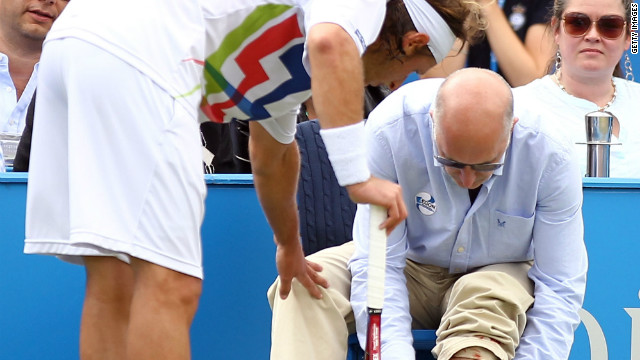 Top 10 tennis tantrums
