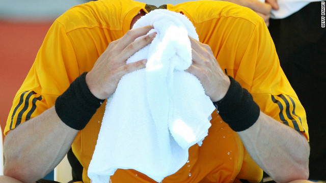 Former world No. 1 Marat Safin lost his rag during a tempestuous Australian Open third-round defeat against Andy Roddick in 2007. The furious Russian, furious after a number of line calls were overruled, was warned for swearing and later fined $2,000.
