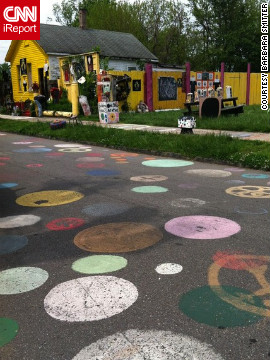 The Heidelberg Project, on Detroit's East Side, is a place for artists to use everyday objects to heal their community through art and creativity. &lt;br/&gt;&lt;br/&gt;See more photos of Detroit at &lt;a href='http://ireport.cnn.com/docs/DOC-802980' target='_blank'&gt;Barbara Smitter's iReport&lt;/a&gt;. 