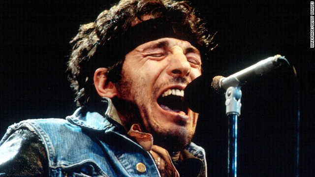 Springsteen delivers one of his passionate performances during the 1985 &quot;Born in the U.S.A. Tour'&quot;in Los Angeles. Already a star for a decade, that album made the singer a phenomenon.