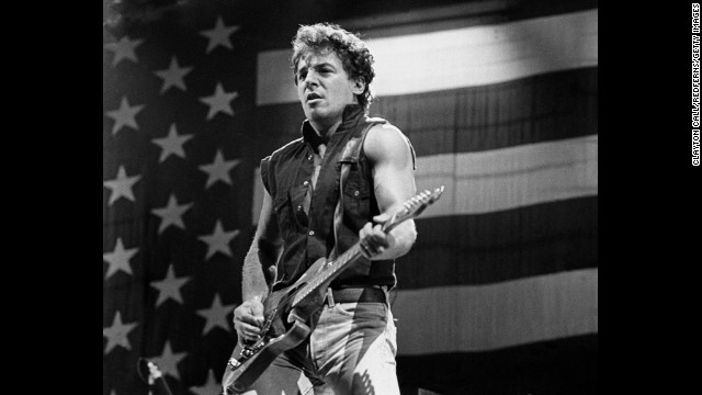 "Bruce Springsteen asked Ronald Reagan's campaign to stop using his 1980s hit, ""Born in the U.S.A."""