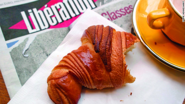 David Lebovitz successfully searched for Paris's best croissants