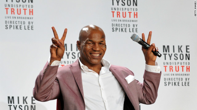 Mike Tyson's reason for going vegan: Prostitutes?