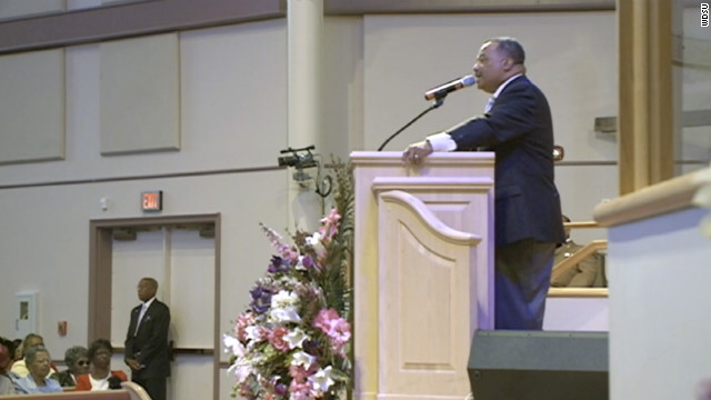 Southern Baptists elect first black president