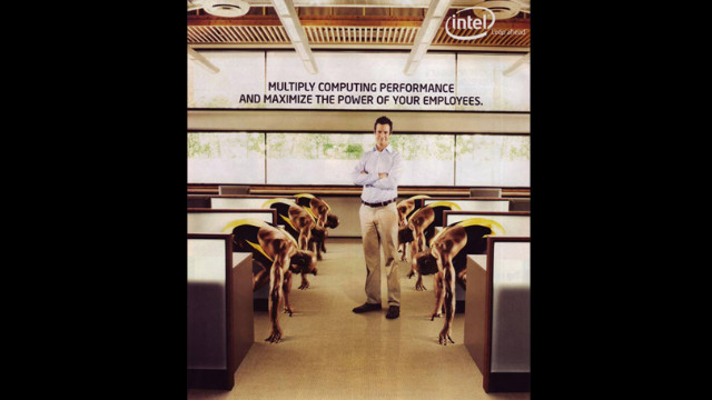 "In 2007, computer chip maker Intel was forced to retract an ad that many considered racist. ""Intel's intent ... was to convey the performance capabilities of our processors through the visual metaphor of a sprinter,"" an Intel official wrote online. ""We have used the visual of sprinters in the past successfully. Unfortunately, our execution did not deliver our intended message and in fact proved to be insensitive and insulting. ... We are sorry and are working hard to make sure this doesn't happen again."""