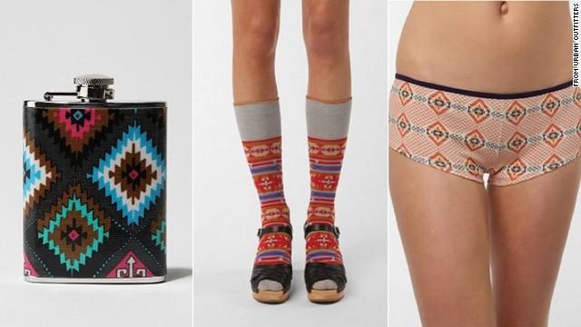 The Navajo Nation <a href='http://inamerica.blogs.cnn.com/2012/03/02/navajo-nation-sues-urban-outfitters-for-alleged-trademark-infringement/'>sued Urban Outfitters</a> for its use of the word Navajo on a line of products in February 2012.