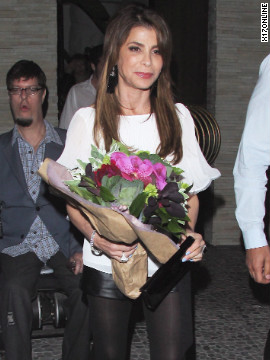 Paula Abdul celebrates her birthday in Hollywood.