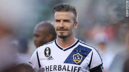 Football: Beckham to leave LA Galaxy