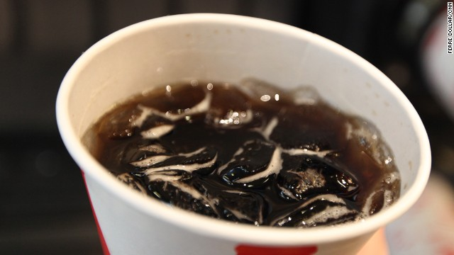 Mass. mayor suggests ban on large drinks, free refills