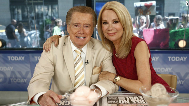 Regis and Kathie Lee reunite on 'Today'